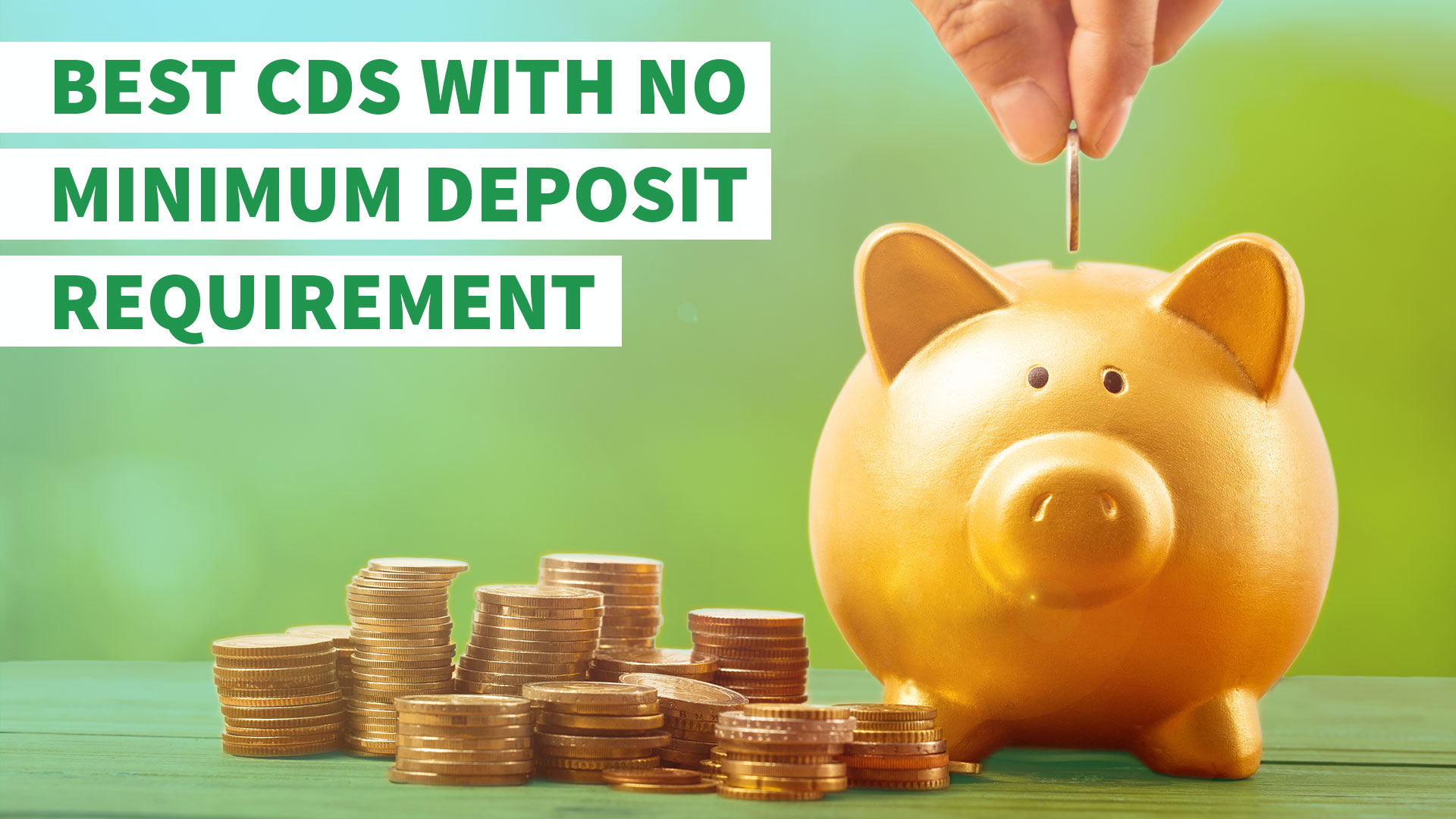 No Minimum Deposit