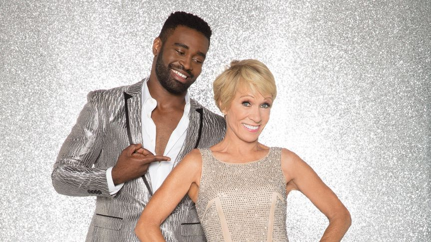 """DANCING WITH THE STARS - KEO MOTSEPE AND BARBARA CORCORAN - The celebrity cast of """"Dancing with the Stars"""" are donning their glitzy wardrobe and slipping on their dancing shoes as they ready themselves for their first dance on the ballroom floor, as the season kicks off on MONDAY, SEPTEMBER 18 (8:00-10:01 p."""