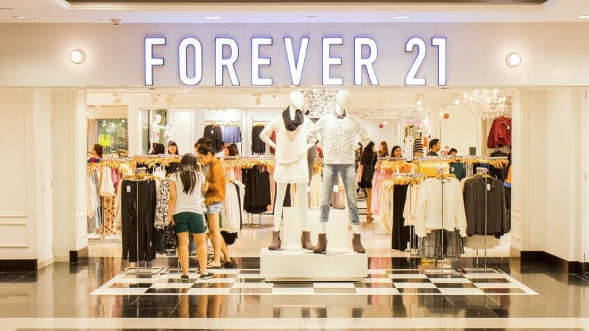11716, Cities, Forever 21, Horizontal, US, USA, United States, america