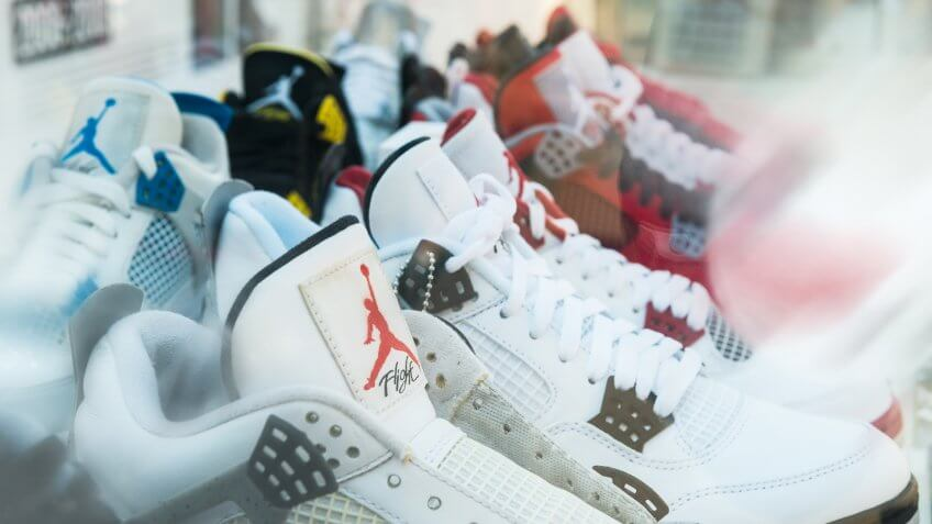 Nike, air jordans, line of sneakers