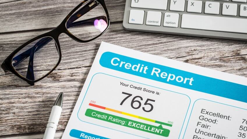 Secret Tips to Live a Financially Secure Life, report credit score banking borrowing application risk form docu