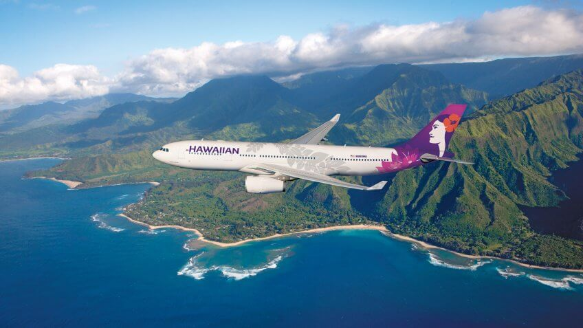 10-018, 11587, A330, Airbus 330, Astrovision, CLA, Clay Lacey Photography, Clay Lacy, Hawaiian Airlines, Horizontal, May 2010, Unlimited buyout, image 2426