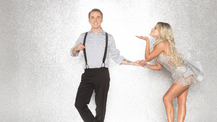 """DANCING WITH THE STARS - FRANKIE MUNIZ AND WITNEY CARSON - The celebrity cast of """"Dancing with the Stars"""" are donning their glitzy wardrobe and slipping on their dancing shoes as they ready themselves for their first dance on the ballroom floor, as the season kicks off on MONDAY, SEPTEMBER 18 (8:00-10:01 p."""