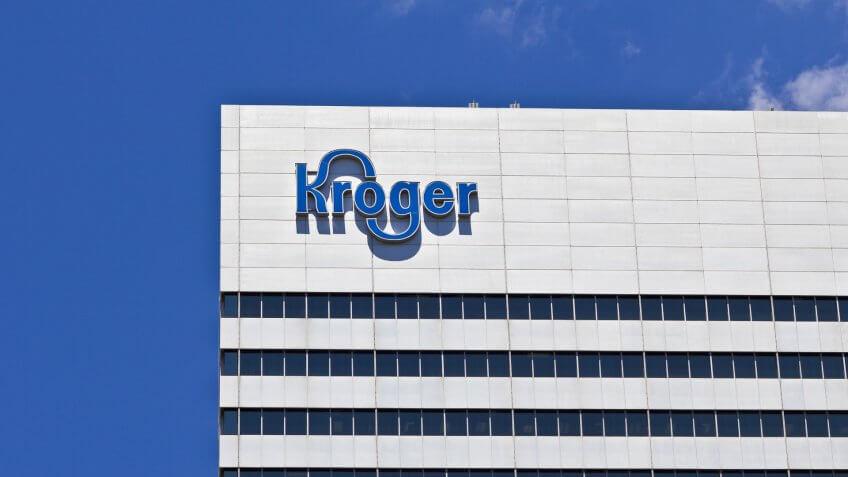 Cincinnati - Circa June 2016: The Kroger Company Corporate Headq