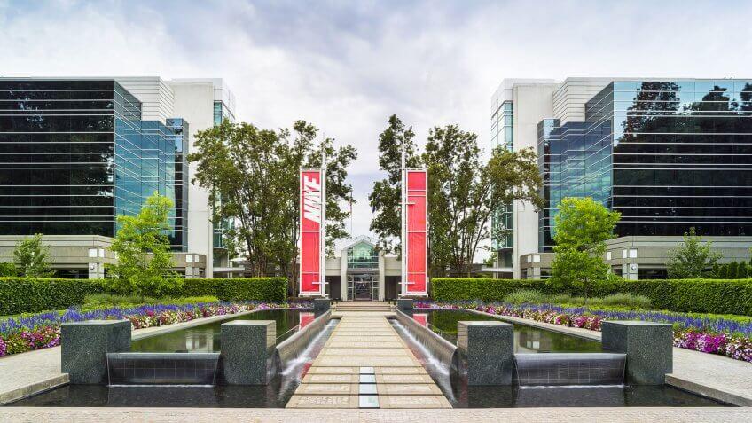 Nike headquarters campus