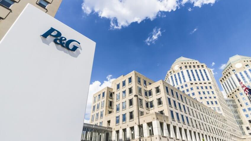 Cincinnati - Circa May 2017: Wide Angle Procter & Gamble Corpora