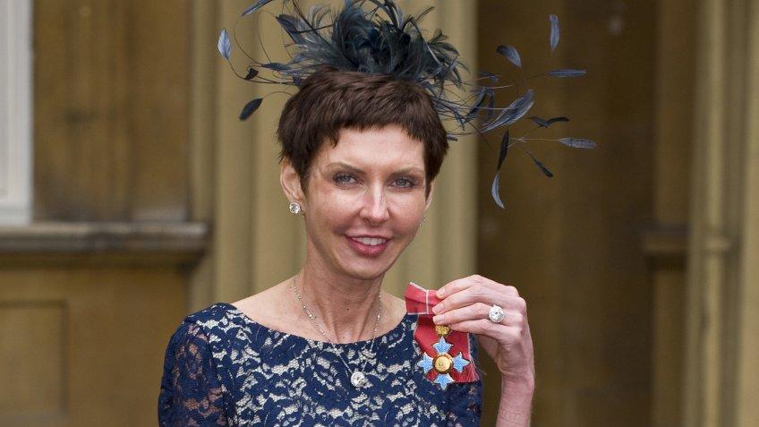 Mandatory Credit: Photo by REX/Shutterstock (1714961s)Denise CoatesInvestitures at Buckingham Palace, London, Britain - 15 May 2012.
