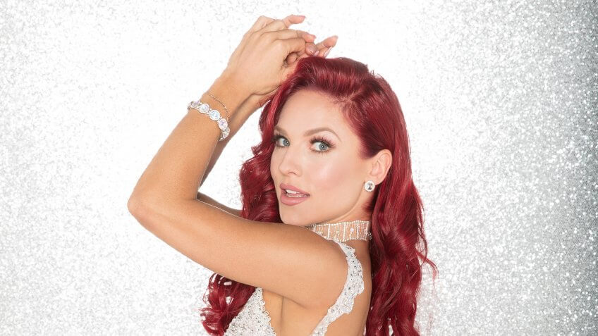 """DANCING WITH THE STARS - SHARNA BURGESS - The celebrity cast of """"Dancing with the Stars"""" are donning their glitzy wardrobe and slipping on their dancing shoes as they ready themselves for their first dance on the ballroom floor, as the season kicks off on MONDAY, SEPTEMBER 18 (8:00-10:01 p."""