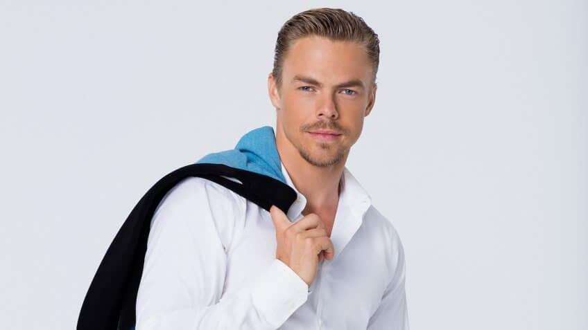 """""""THE WONDERFUL WORLD OF DISNEY: DISNEYLAND 60"""" - Six-time """"Dancing with the Stars"""" champion Derek Hough serves as Master of Ceremonies when the ABC Television Network presents """"The Wonderful World of Disney: Disneyland 60."""