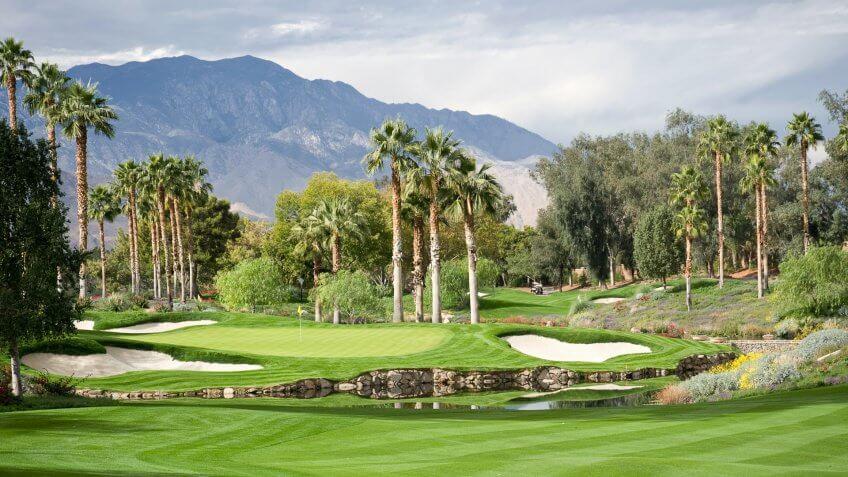 Southern California Golf Landscape .