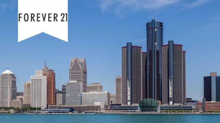 11716, Cities, Detroit - Michigan, Horizontal, US, USA, United States, america