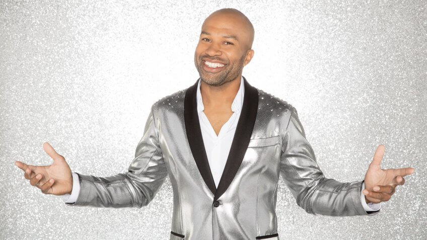 """DANCING WITH THE STARS - DEREK FISHER - The celebrity cast of """"Dancing with the Stars"""" are donning their glitzy wardrobe and slipping on their dancing shoes as they ready themselves for their first dance on the ballroom floor, as the season kicks off on MONDAY, SEPTEMBER 18 (8:00-10:01 p."""