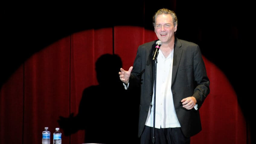 LAS VEGAS, NV - JULY 09:  Comedian/actor Norm Macdonald performs at The Orleans Hotel & Casino July 9, 2011 in Las Vegas, Nevada.