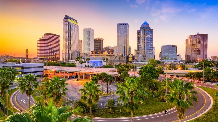 11657, Best Cities for Retirement in These Income Tax-Free States, Horizontal, Tampa Florida
