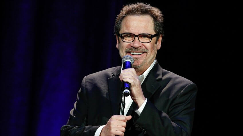 NASHVILLE, TN - MAY 17:  Comedian Dennis Miller performs at the Bud Light Presents Wild West Comedy Festival on May 17, 2014 in Nashville, Tennessee.