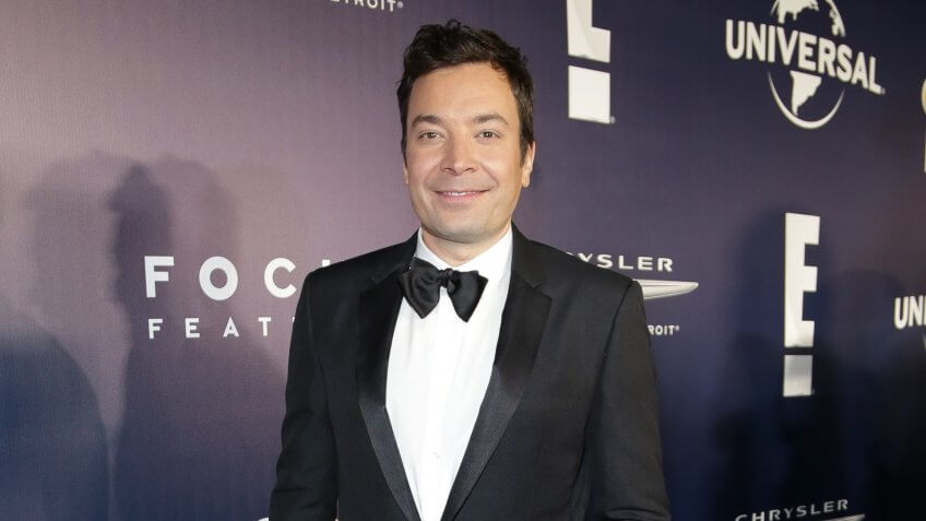 BEVERLY HILLS, CA - JANUARY 08:  Comedian Jimmy Fallon attends NBCUniversal's 74th Annual Golden Globes After Party at The Beverly Hilton Hotel on January 8, 2017 in Beverly Hills, California.