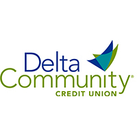 Delta Community Credit Union logo 2017