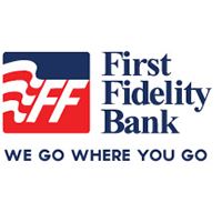 First Fidelity Bank logo 2017
