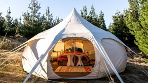 Luxurious Camping Options for People Who Want to Sleep in a Bed