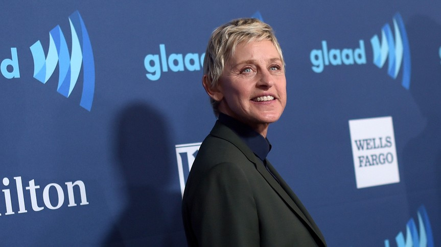 BEVERLY HILLS, CA - MARCH 21:  Comedian Ellen DeGeneres attends the 26th Annual GLAAD Media Awards at The Beverly Hilton Hotel on March 21, 2015 in Beverly Hills, California.