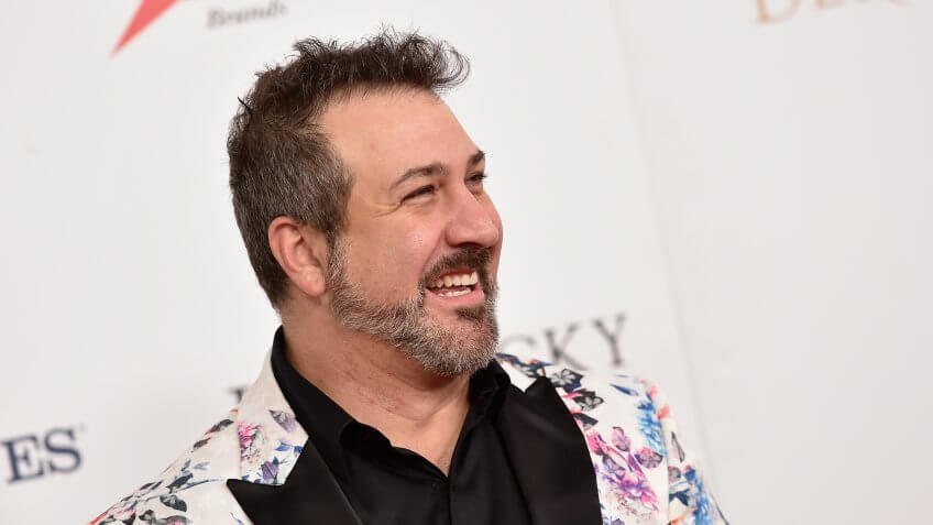 LOUISVILLE, KY - MAY 07:  Singer Joey Fatone attends the 142nd Kentucky Derby at Churchill Downs on May 07, 2016 in Louisville, Kentucky.