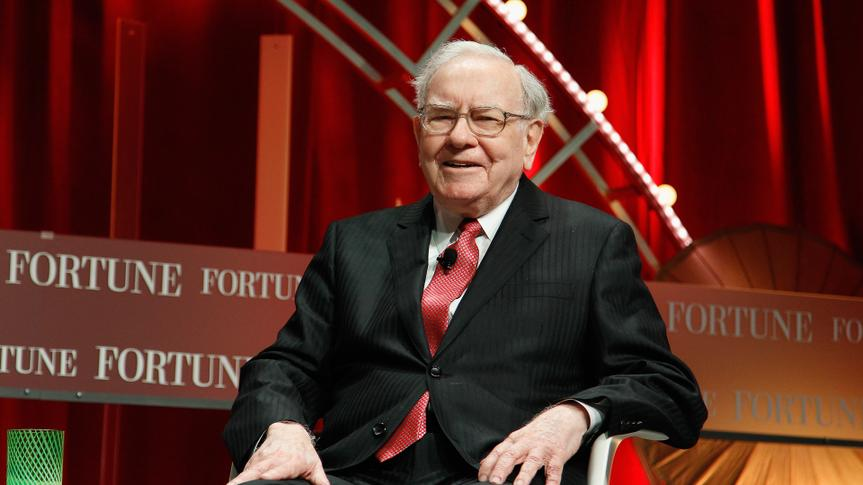 WASHINGTON, DC - OCTOBER 13: Warren Buffett speaks onstage during Fortune's Most Powerful Women Summit - Day 2 at the Mandarin Oriental Hotel on October 13, 2015 in Washington, DC.