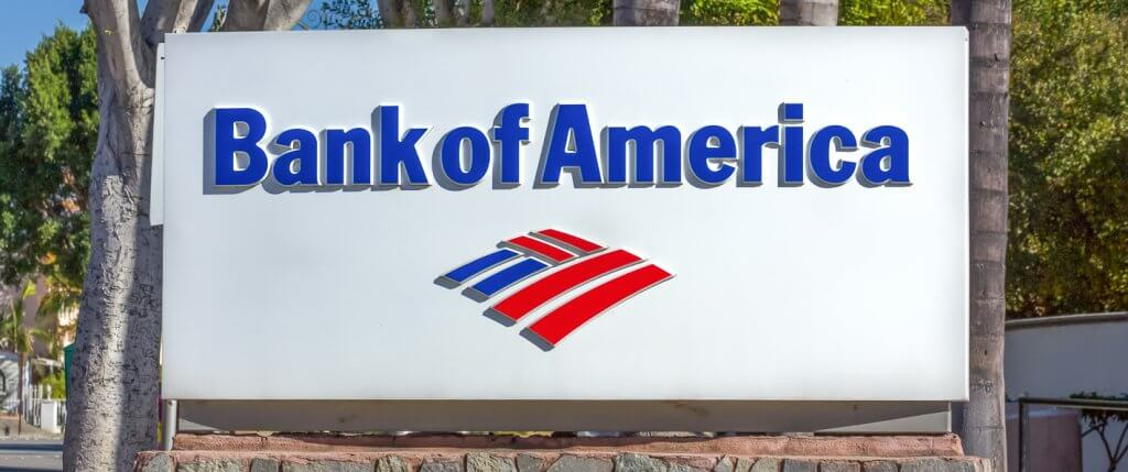 the closest bank of america to me