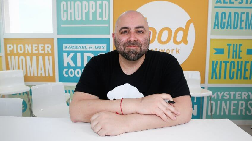 Where 13 of the richest food network stars are now gobankingrates miami beach fl february 22 chef duff goldman signs books at the kitchenaid forumfinder Images