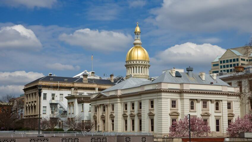Capitol Building, New-Jersey