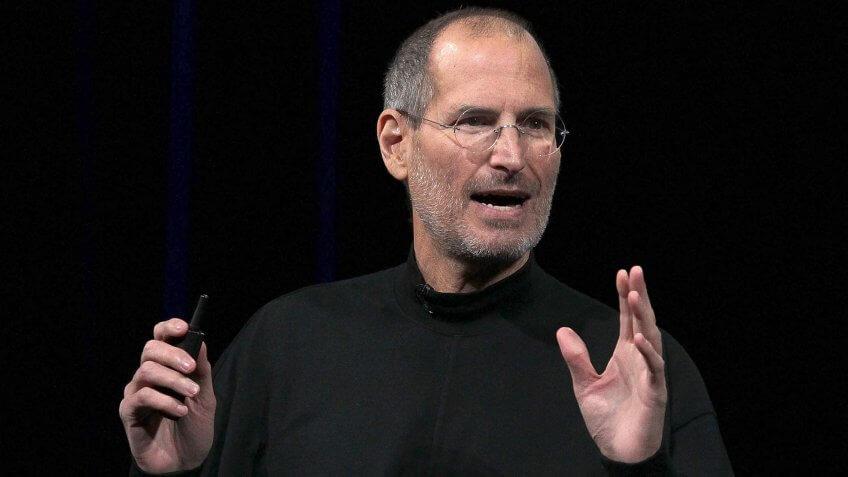 SAN FRANCISCO - JANUARY 27: Apple Inc. - Steve Jobs, CEO 1997 to 2011