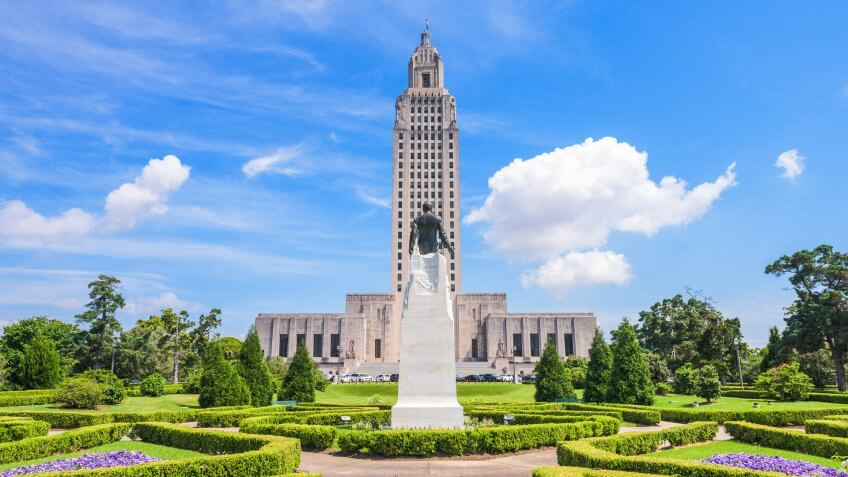 Capitol Building, Louisiana