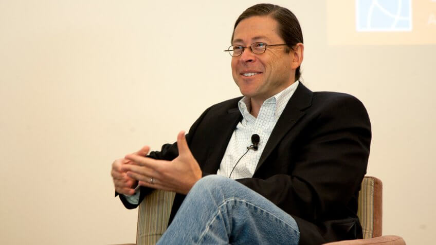Jonathan Schwartz, CEO of Sun Microsystems from 2006 to 2010