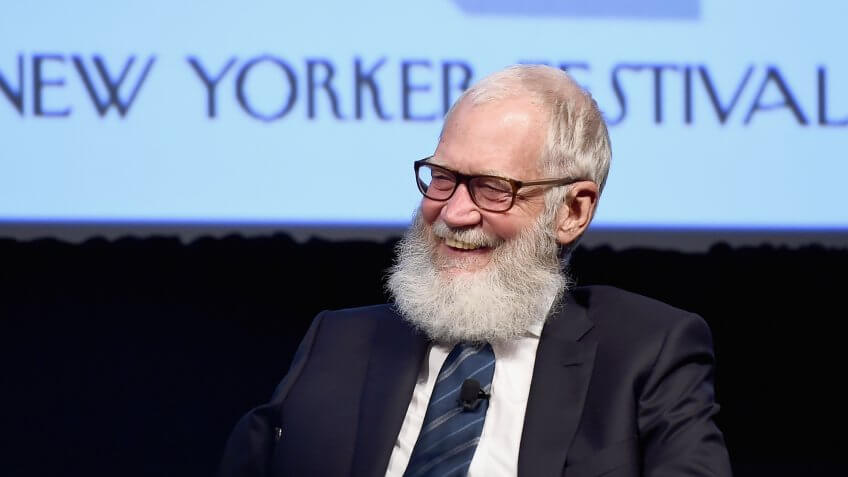 NEW YORK, NY - OCTOBER 07:  Comedian and former talk show host David Letterman speaks onstage during The New Yorker Festival 2016 - David Letterman Talks With Susan Morrison at MasterCard Stage at SVA Theatre on October 7, 2016 in New York City.