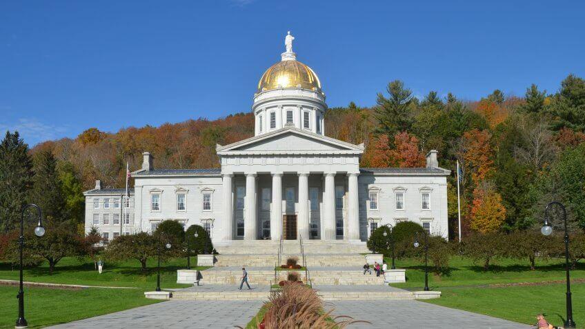 Capitol Building, Vermont