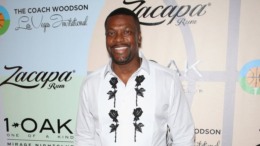 LAS VEGAS, NV - JULY 10:  Actor/comedian Chris Tucker attends the Coach Woodson Las Vegas Invitational red carpet and pairings party at 1 OAK Nightclub at The Mirage Hotel & Casino on July 10, 2016 in Las Vegas, Nevada.