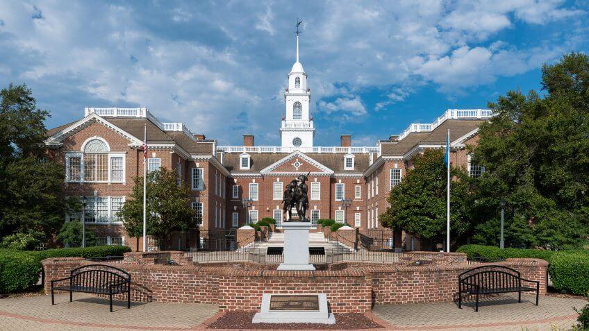 Capitol Building, Delaware