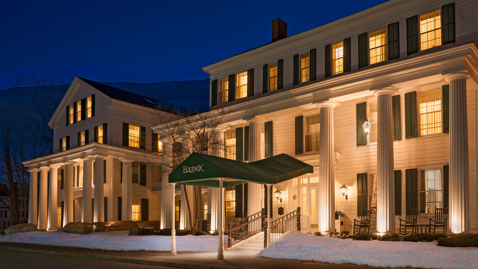 The Equinox hotel in Manchester Vermont