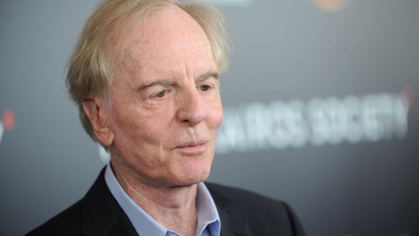 NEW YORK, NY - APRIL 21:  John Sculley speaks onstage at the Kairos Society Global Summit At One World Observatory on April 21, 2017 in New York City.