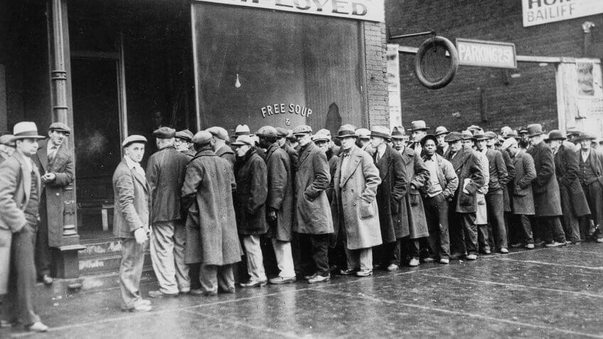 Unemployed Great Depression