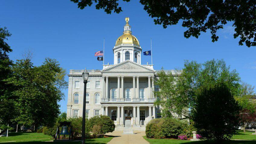 Capitol Building, New-Hampshire