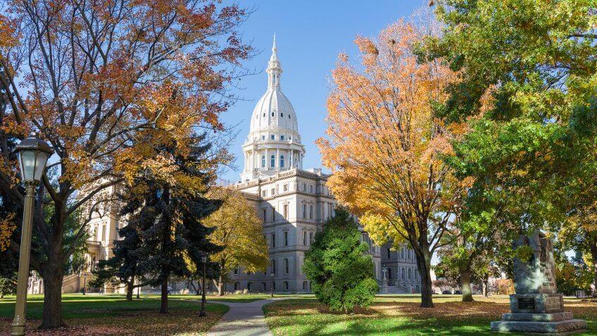 Capitol Building, Michigan