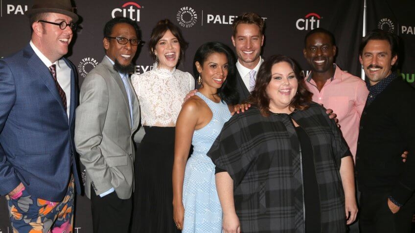 """LOS ANGELES - SEP 13: """"This is Us"""" Cast at the PaleyFest 2016 Fall TV Preview - NBC at the Paley Center For Media on September 13, 2016 in Beverly Hills, CA."""