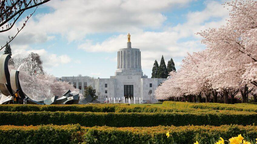 Capitol Building, Oregon