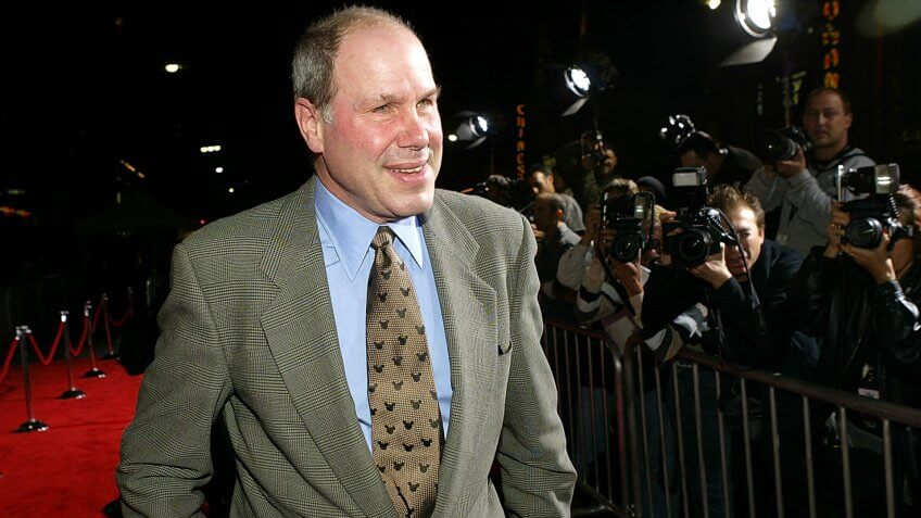 HOLLYWOOD - MARCH 12:  Michael Eisner, CEO of the Walt Disney Company arrives for the world premiere of the movie 'Ladykillers' at the El Capitan Theatre March 12, 2004 in Hollywood, CA.