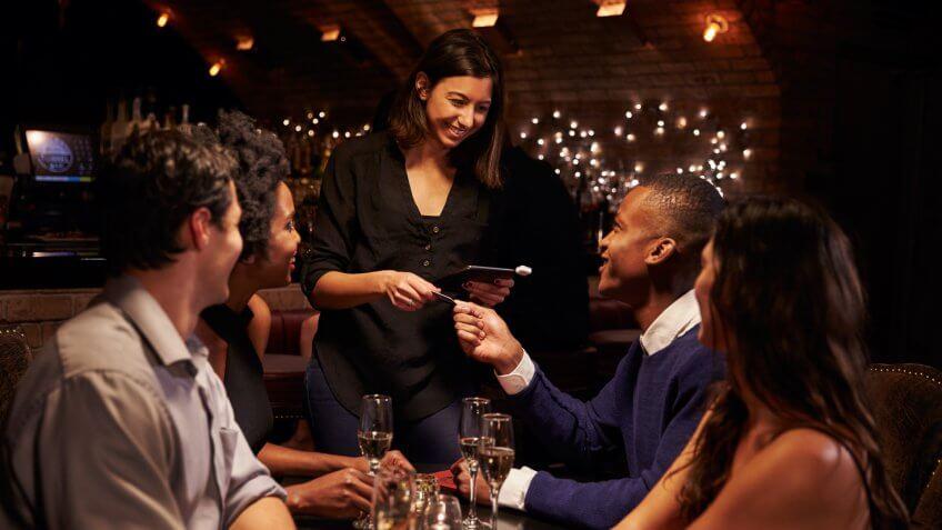 restaurant-waitress
