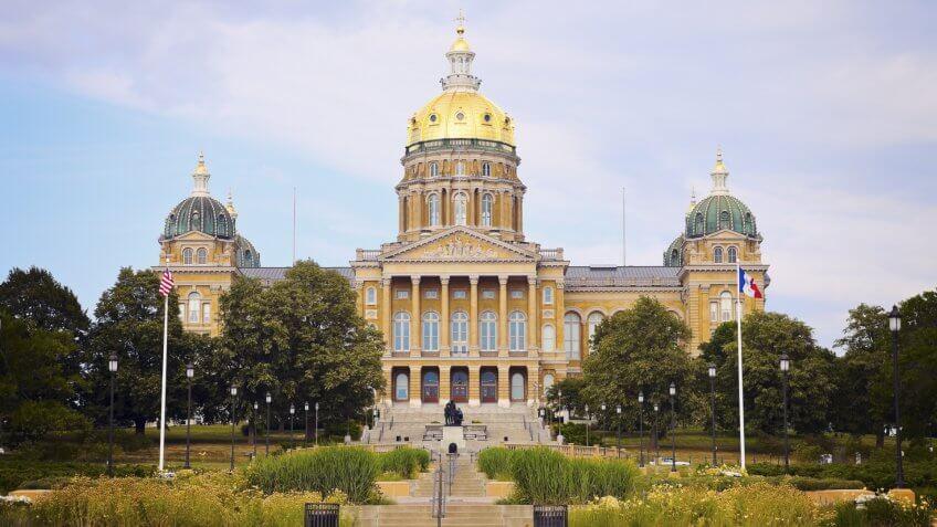 Capitol Building, Iowa
