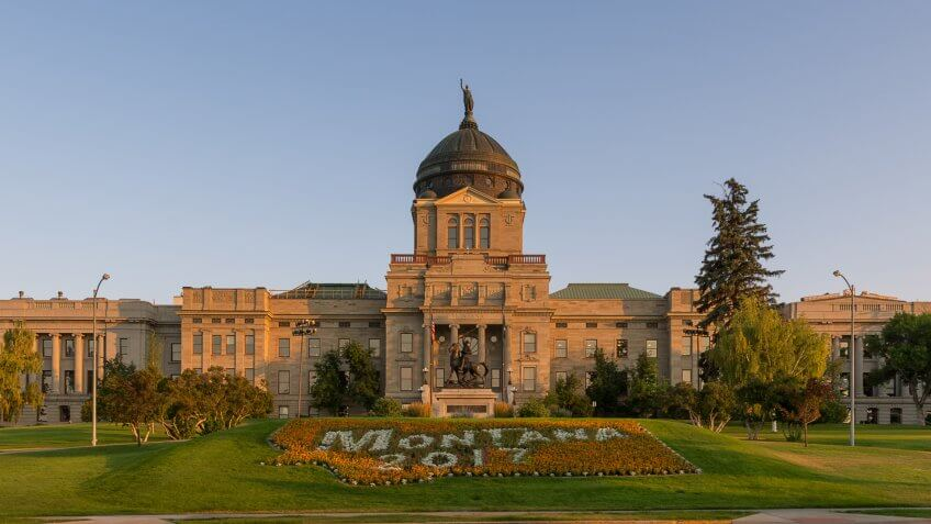 Capitol Building, Montana
