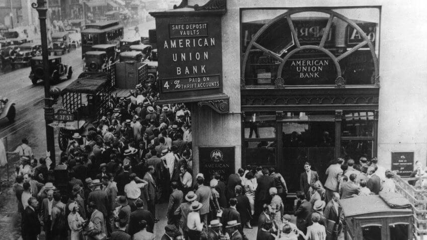 American Union Bank New York Great Depression