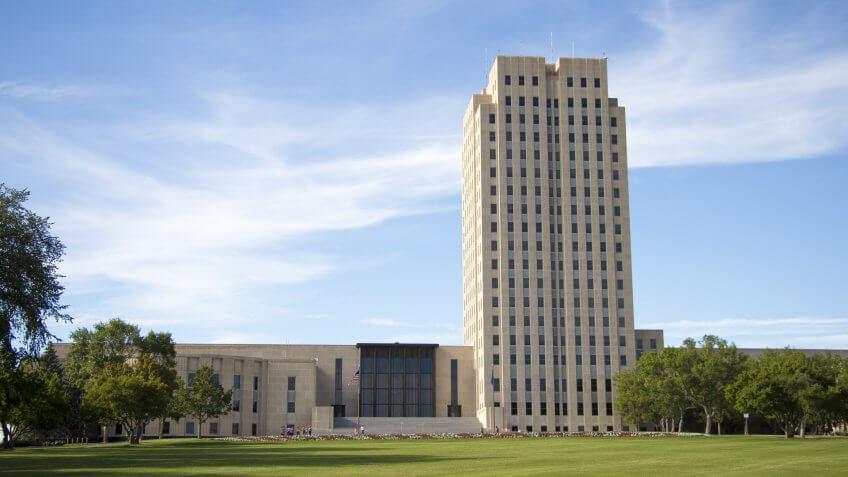 Capitol Building, North-Dakota