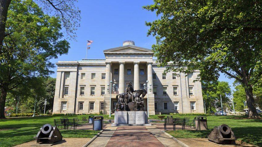 Capitol Building, North-Carolina